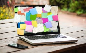 Que reste t-il de nos post-it ? pour les collaborateurs.